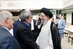 وزیر کشور با آیت الله نورمفیدی دیدار کرد