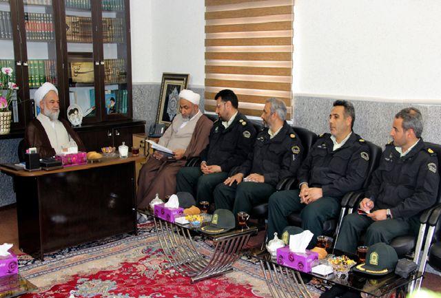 اخلاق و رفتار اسلامی چاشنی برخورد قانونی مأموران نیروی انتظامی باشد