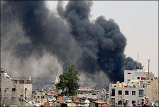 10 کشته و دهها مجروح بر اثر حمله خمپارهای به دمشق