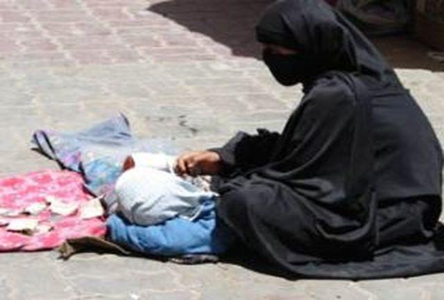 جولان گداهای سوری در خیابان های شهر اهواز