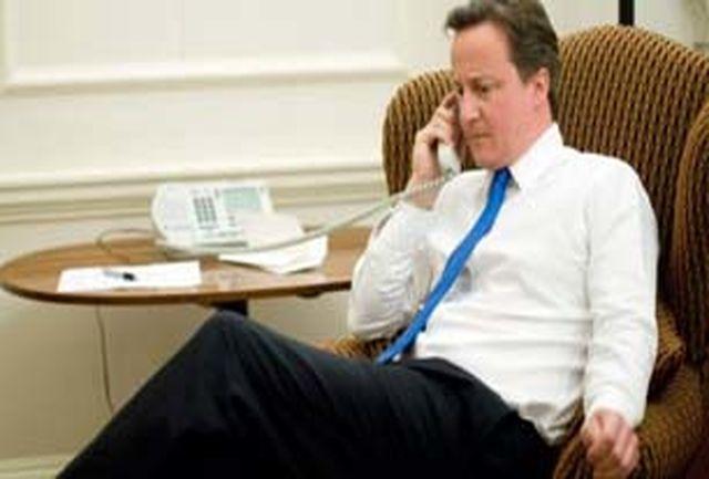 گفتگوی تلفنی کامرون و نتانیاهو