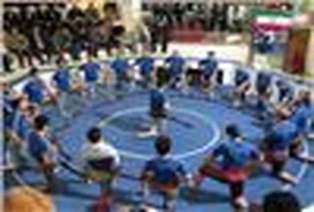برگزاری مسابقات زورخانهای در فارس