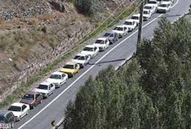 جاده كرج - چالوس برای مسافران نوروزی مهیا میشود