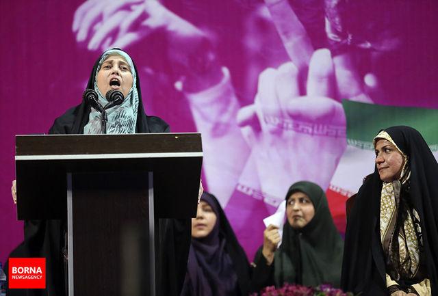 روحانی متشکریم که ما زنان را فقط برای رای نخواستی