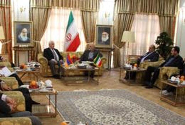 دیدار سفیر ارمنستان با معاون سیاسی و امنیتی استانداری کرمانشاه