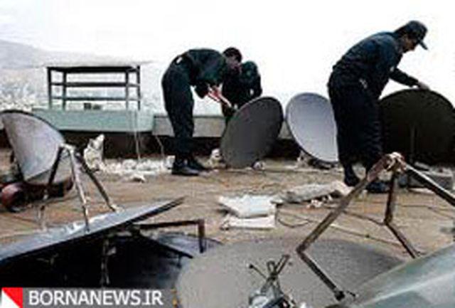 113 دستگاه گیرنده ماهواره در مراغه جمعآوری شد