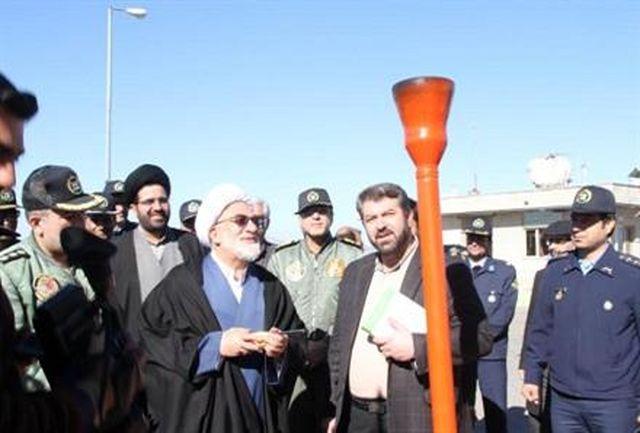 افتتاح پروژه گازرسانی به پایگاه هوایی قیام