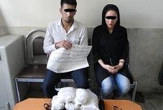 دستگیری قاچاقچیان خانواده نما هنگام جابجایی تریاک