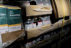کشف 600 میلیون ریال داروی قاچاق در کرمان