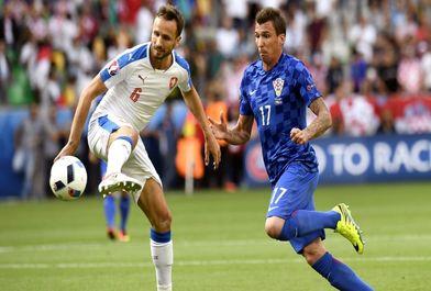 دیدار تیم های جمهوری چک و کرواسی