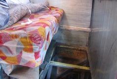 توقیف دودستگاه اتوبوس حامل کالای قاچاق  یک میلیارد ریالی در شهرستان خمیر