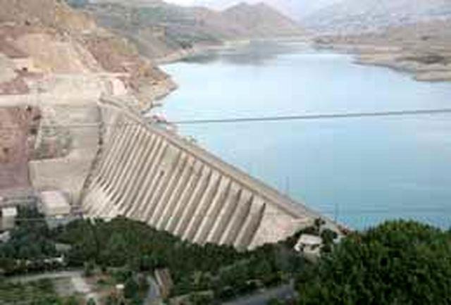آب سدهای كشور 4.4 درصد كاهش یافت