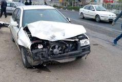 4 مصدوم در نتیجه واژگونی خودروی پراید
