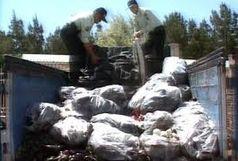 کشف 233 کیلو تریاک از تریلی حامل کود شیمیایی در استان سمنان