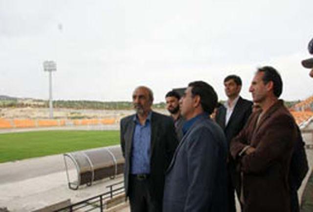 دکتر گودرزی از مجموعه ورزشی غدیر شهر ایلام بازدید کرد