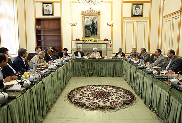 اولین نشست مشترک هیأت رئیسه مجلس با شورای نگهبان برگزار شد