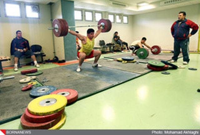 اولین گروه کاروان وزنه برداری کشورمان راهی چین شد