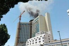 مهار شدن آتشسوزی در یک برج اطراف حرم رضوی