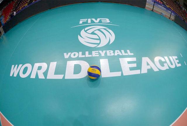 برنامه مرحله نهایی سطح یک لیگ جهانی والیبال اعلام شد