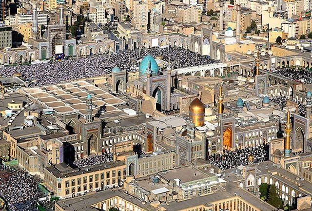 ورود بیش از یک میلیون و ۲۰۰ هزار نفر به مشهد مقدس در تعطیلات عید فطر