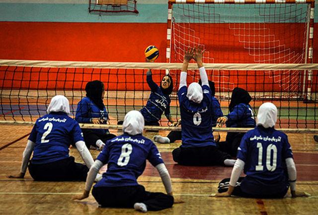 اردوی تیم ملی والیبال نشسته بانوان برگزار شد