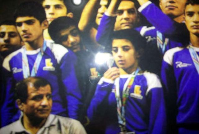 کسب مدال نقره جهانی کشتی آزاد توسط دانش آموز سیرجانی