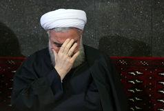 دکتر روحانی درگذشت مرحوم حاج محمد عاصمی را تسلیت گفت