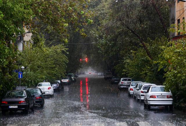 هوای بارانی پایتخت سالم است