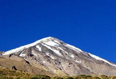 ضبط یک قطعه موسیقی بر روی قله دماوند