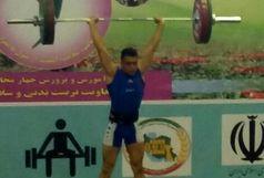 کسب مدال طلای مسابقات کشوری وزنه برداری توسط یک کرمانی