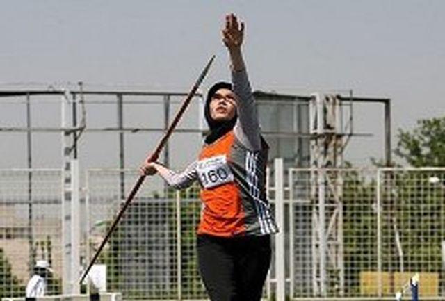 فائزه کرمانی به نشان برنز پرتاب نیزه دست یافت