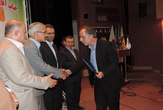 مراسم معارفه مدیرعامل جدید شرکت شهرک های صنعتی آذربایجان غربی برگزار شد