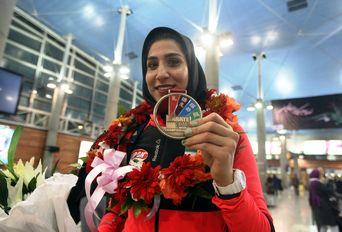 مراسم استقبال از تیم ملی کاراته ایران