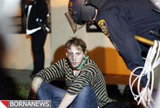شمار تظاهرکنندگان بازداشتشده در اوکلند به 400 تن رسید