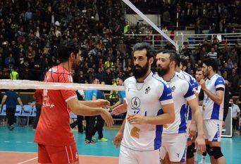 دیدار تیم های والیبال شهرداری ارومیه - پیکان
