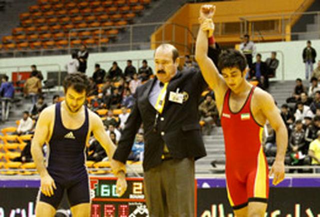 تیم کشتی آزاد ایران قهرمان مسابقات جام تختی شد