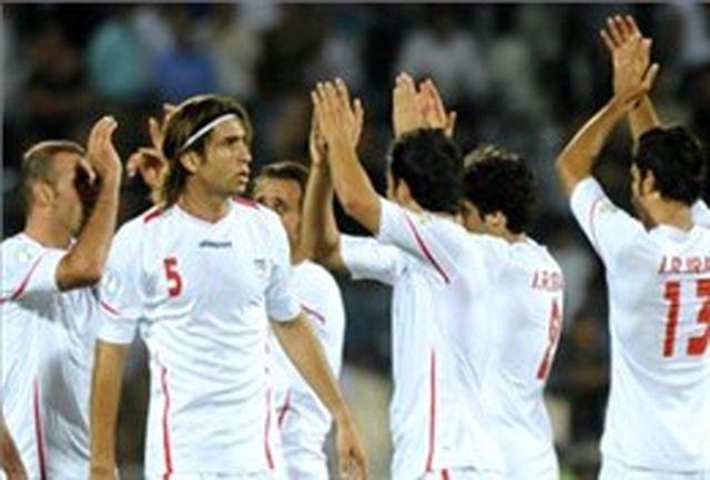 حضور عقیلی در تمرین تیم ملی فوتبال امید