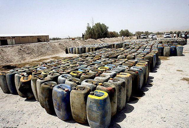کشف بیش از 39 هزار لیتر سوخت قاچاق در سراوان