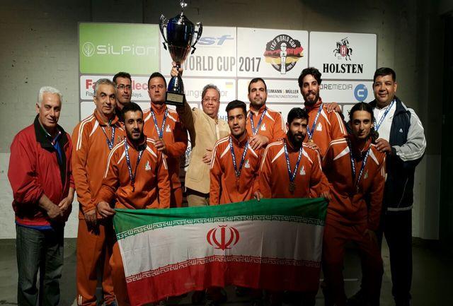 تیم ملی ایران قهرمان رقابت های جام جهانی فوتبال رومیز آلمان شد