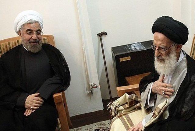 آیتالله شبیری زنجانی درگذشت والده رئیس جمهور را تسلیت گفت