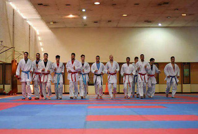 اردوی تیم ملی کاراته در قزوین پایان یافت