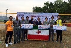 تیم ملی الف ایران نایب قهرمان آسیا شد