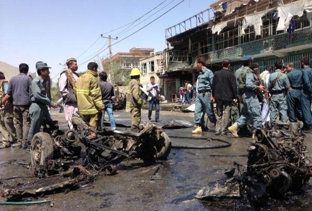 حمله تروریستی به سفارت عراق در افغانستان