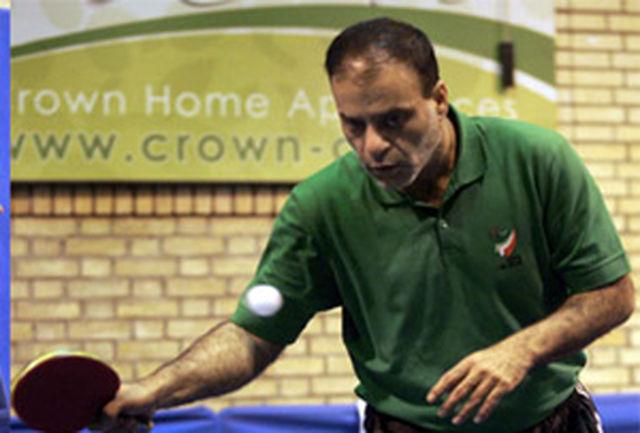 نماینده خراسان شمالی در راه مسابقات تنیس روی میز جانبازان و معلولین اسلواکی