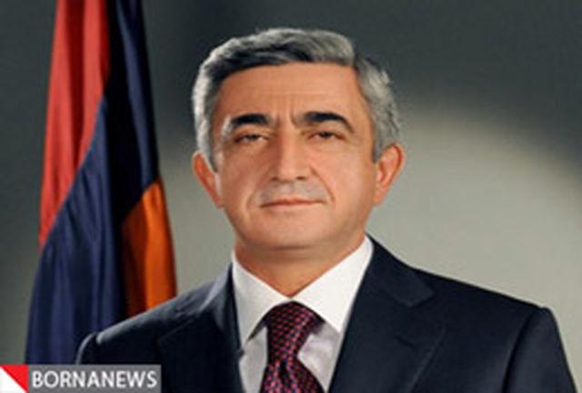 رییس جمهور ارمنستان وارد تهران شد