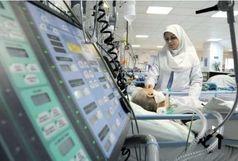 پلیس فداکار کرمانشاهی در بیمارستان
