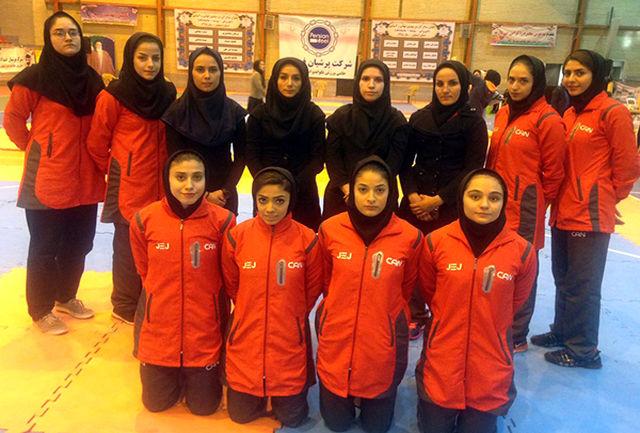 دختران پایتخت در جایگاه سوم کشور ایستادند
