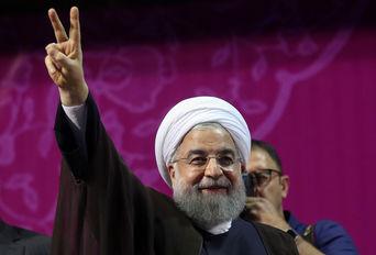 سخنرانی دکتر روحانی در جمع هوادارانش  - 1