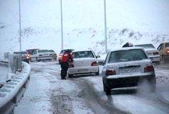 سه محور برف گیر کشور مسدود است