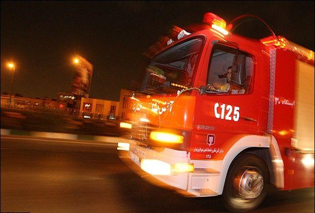 آتش در خوابگاه دانشجویی دانشگاه جندی شاپور اهواز